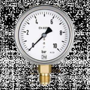 Bourdon rør manometer MAN-R/MAN-Q - Kobold