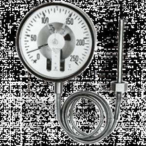 Kapillartermometer nitrogenfyldt TNF - Kobold