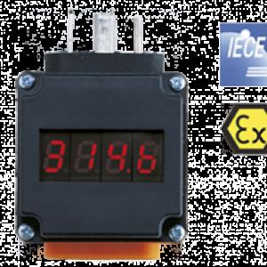 Plug-on Display til transmitters AUF