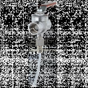 Kugleventil med integreret sensor KUG-S - Kobold