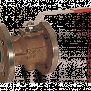 Kugleventil med flange KUG-VO - Kobold