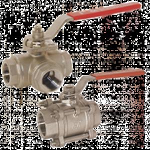Rustfrit stål kugle ventil KUG-PD/-ZE - Kobold