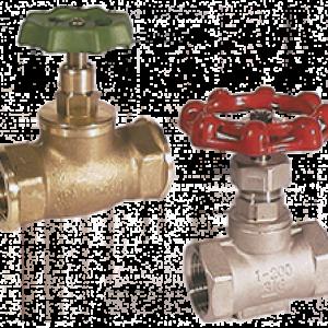 Messing og stål ventiler NAD series