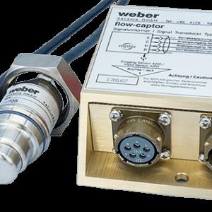 Flowmåler og temperatur 4205/4053.31 - Captor